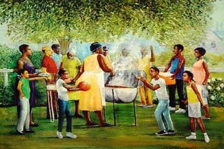 Black family celebrations