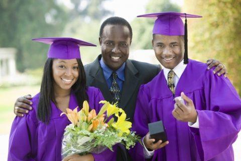 ATB Photo 9 - parent at son daughter graduation