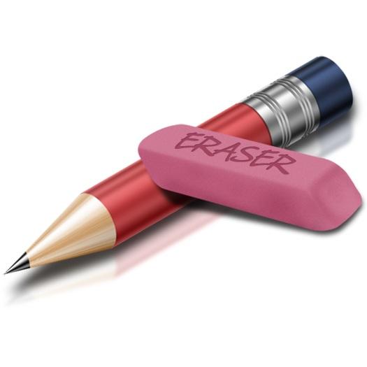 Photo Credit: https://almunowir.files.wordpress.com/2012/01/pencil-and-eraser1.jpg