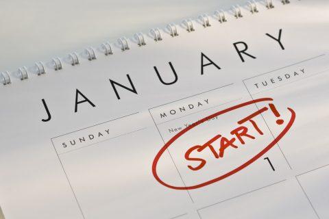 Start on January 1
