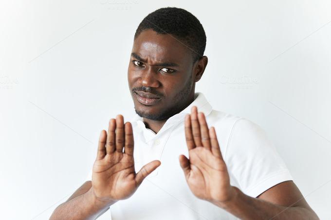 blackman saying no